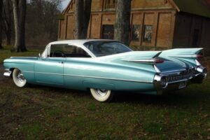 Cadillac coupe 59